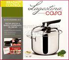 PENTOLA PRESSIONE IRRADIAL CONTROL LT 3,5 ACCIAIO INOX 18/10 LAGOSTINA CASSERUOL