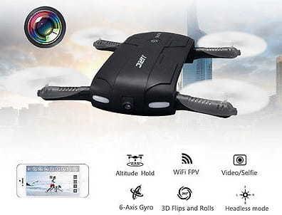 Mini Droneavec camera Kingtoys JJRC H37 Elfie
