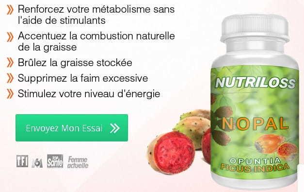 régime naturel amincissant au nopal