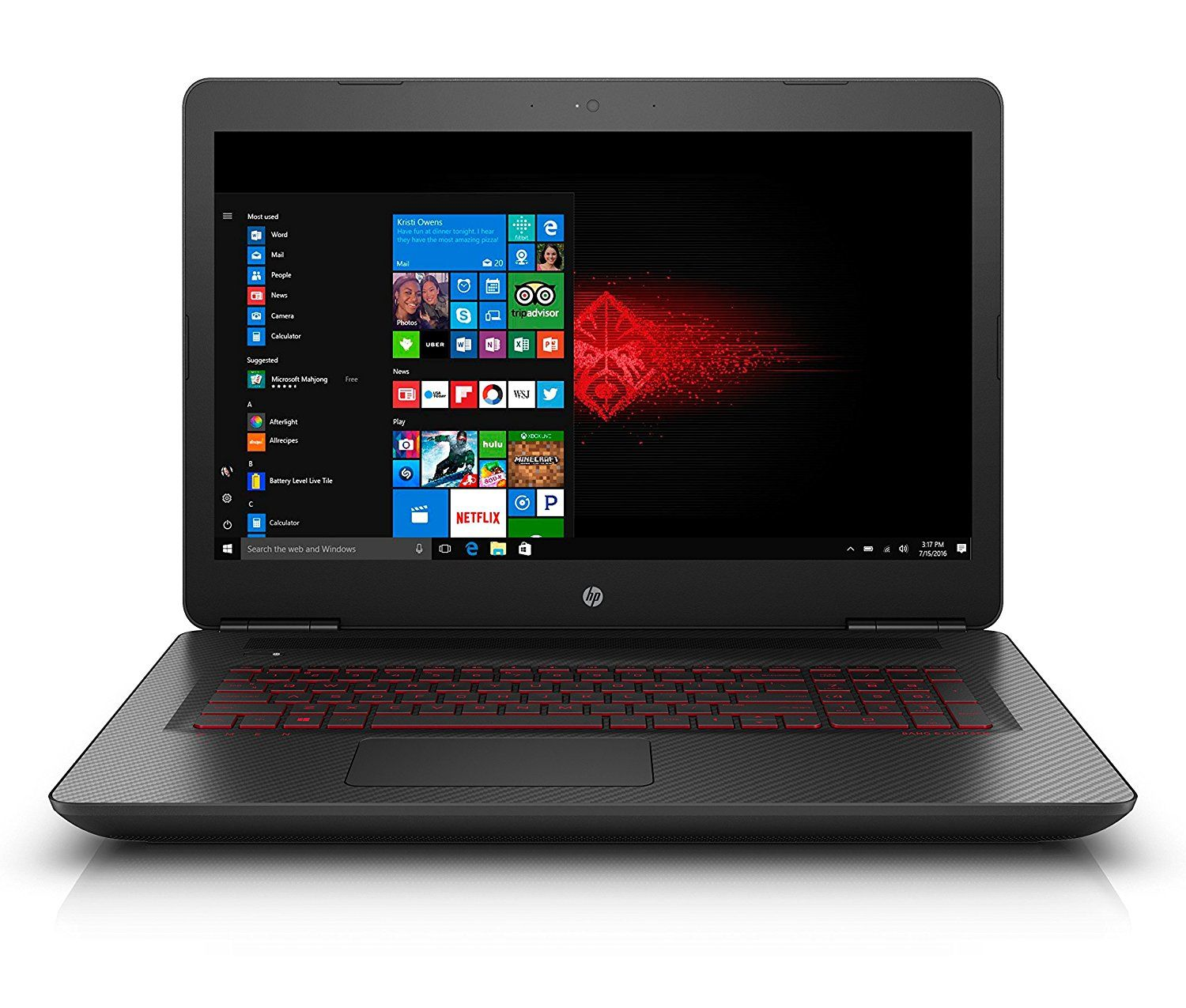 HP OMEN 17 w207nf PC Portable Gaming