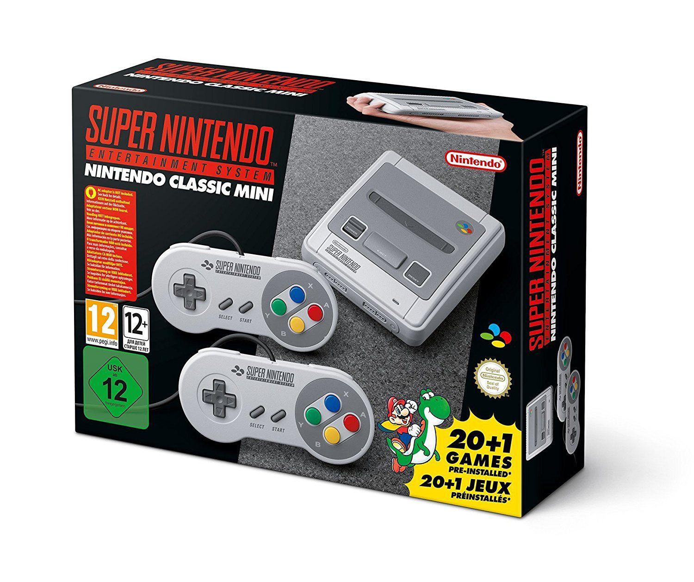 Console SNES Nintendo Classic Mini