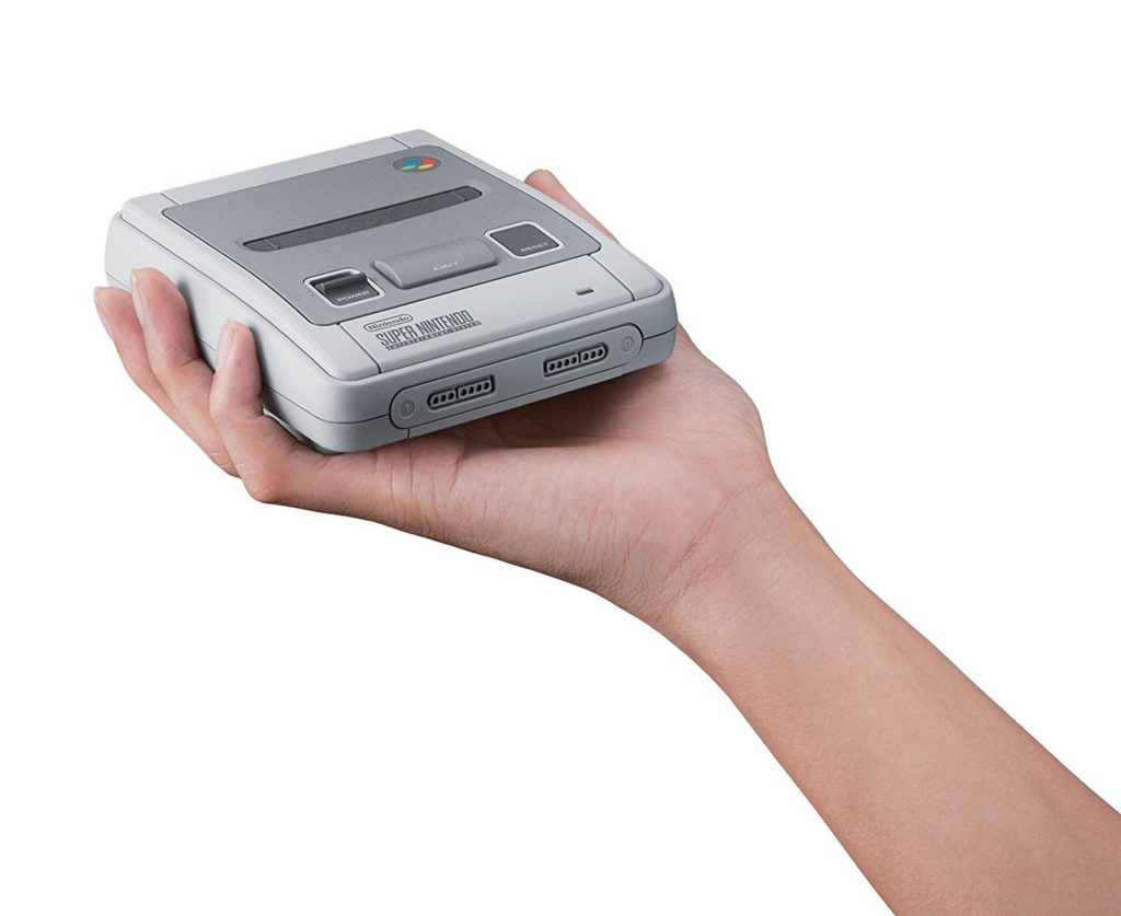 Taille de la console SNES Nintendo Classic Mini