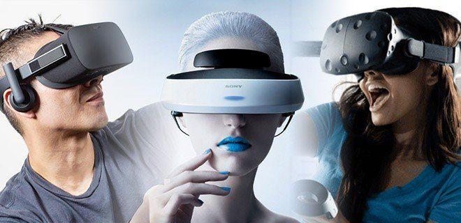 casque de réalité virtuelle HTC Sony Oculus