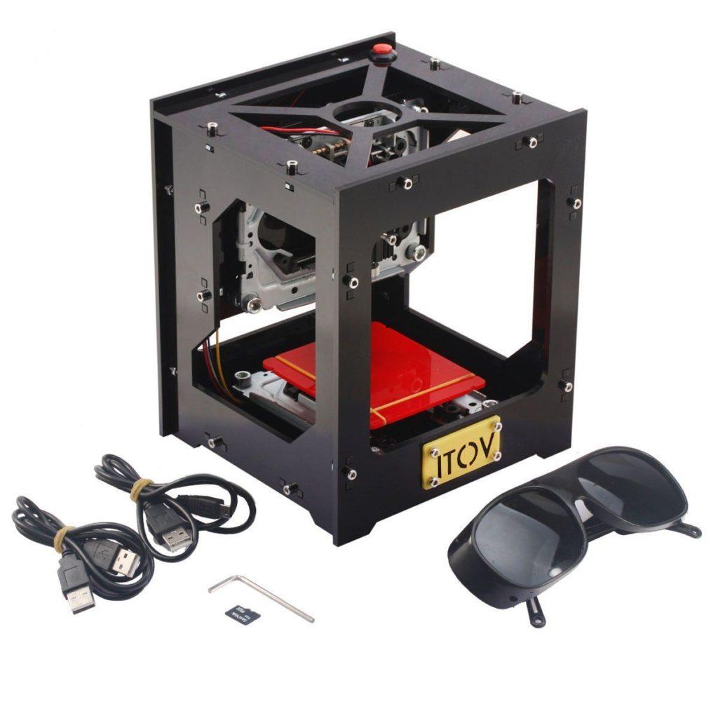 ITOV 1000mW USB Mini Laser Graveur Haute Vitesse Fonctionnement Hors Line