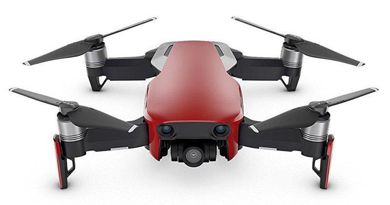DJI Mavic Air Fly Combo (EU) - Drone Quadricoptère avec caméra / panoramiques sphériques de 32 Mpx / de photos HDR / de vidéos 4K à 30 i/s en 100 Mbit/s