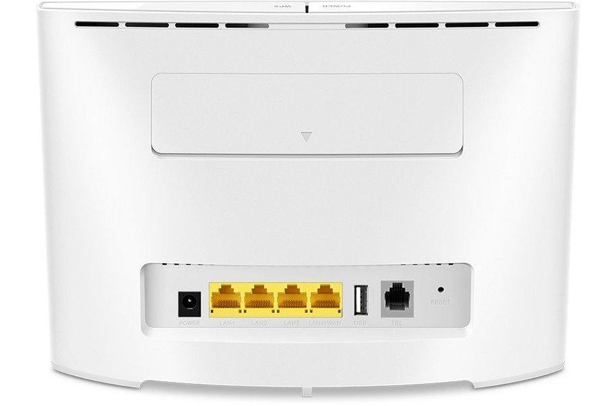 Huawei B525s-23a blanc Routeur 4G+ LTE - Vue Arrière