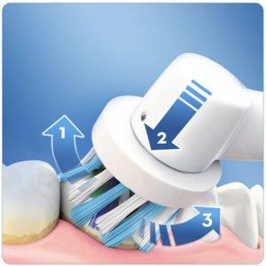 Oral-B PRO 2 2000N CrossAction Brosse à Dents Électrique Rechargeable par Braun