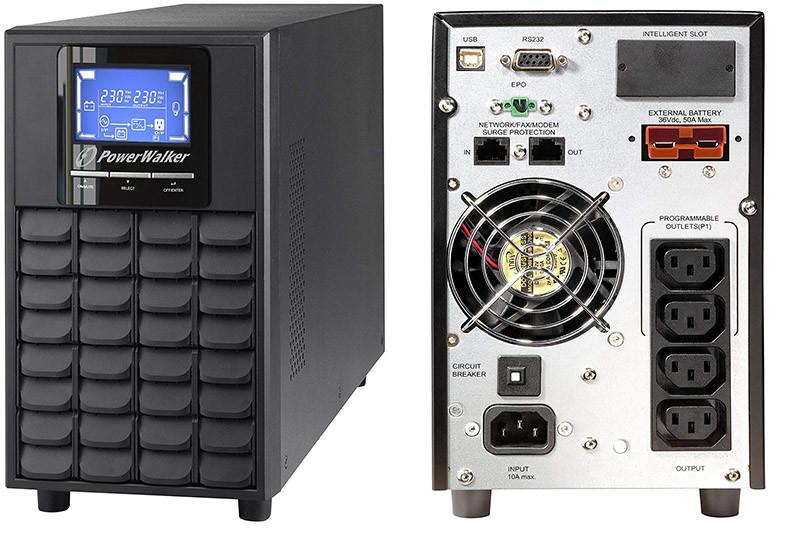 BlueWalker VFI 1500 Onduleur online LCD USV 1500 VA
