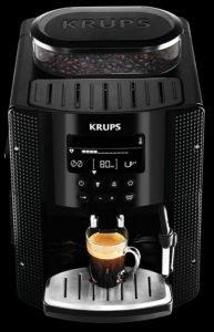Krups YY8135FD Machine à Espresso Full Auto Compacte avec Ecran Noir 1450 W