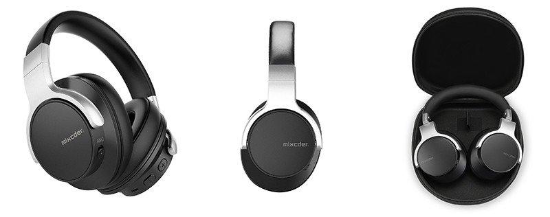 Mixcder E7 Casque Bluetooth à Réduction Active de Bruit Over-Ear Audio Stéréo Écouteurs Circum Auriculaire ANC
