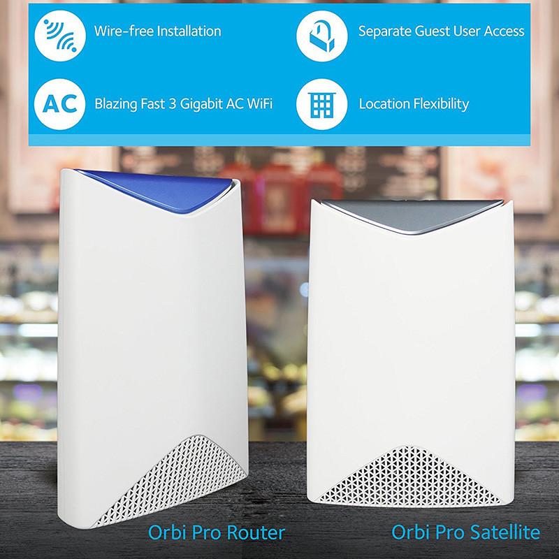 Netgear SRK60-100EUS Orbi Pro Système Wifi Parfait pour les Professionnels