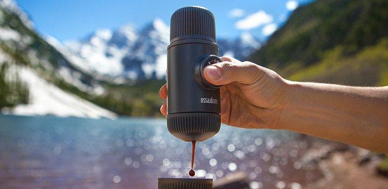 Wacaco Nanopresso machine à expresso portative, évolution de La Minipresso