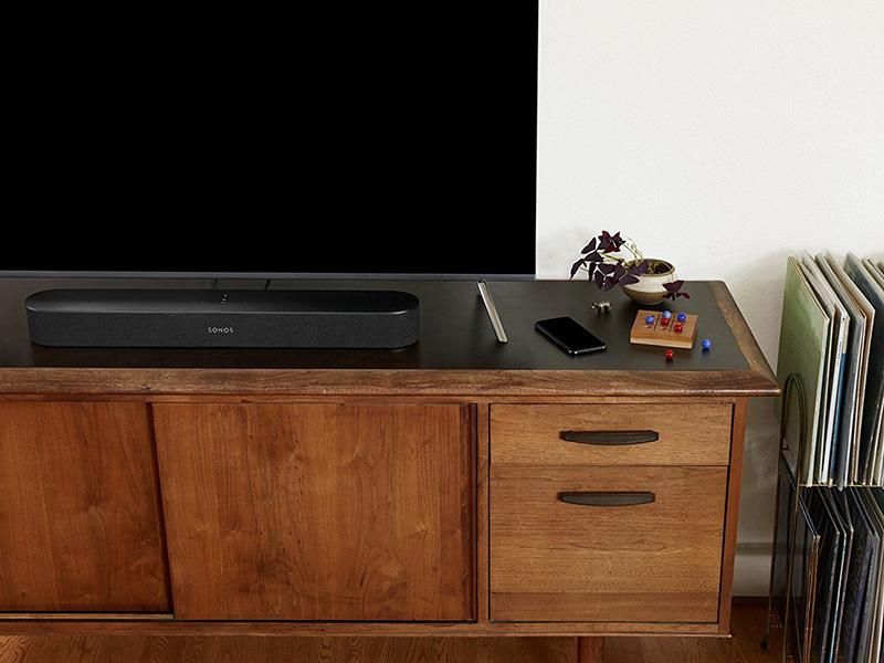 La Nouvelle Sonos Beam Home Cinéma multiroom sans Fil et Musique en Streaming dans Toutes Les Pièces
