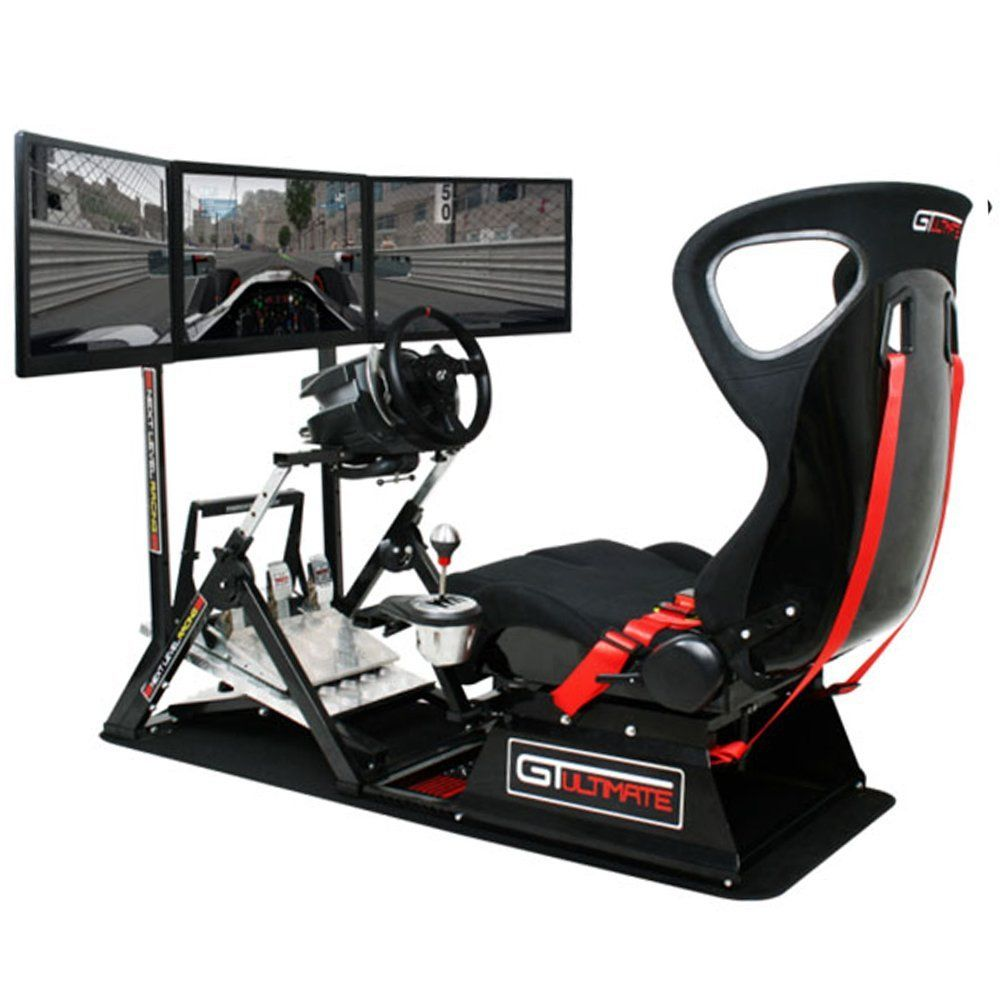 NEXT LEVEL RACING GTUltimate V2 - Cockpit de Simulation de Course/PC et Consoles