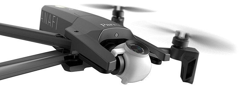 Parrot ANAFI - Drone Quadricoptère Pliable avec Caméra 4K HDR