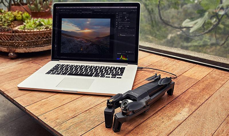 Parrot ANAFI - Drone Quadricoptère Pliable avec Caméra