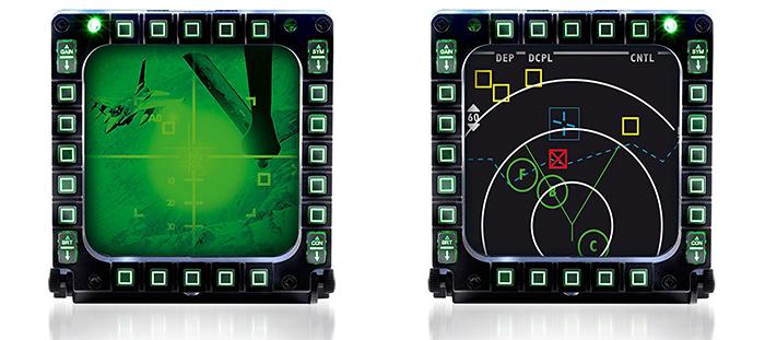 ThrustMaster MFD Cougar - Pack de 2 multifonctionnels USB Cockpit Panel - visuels
