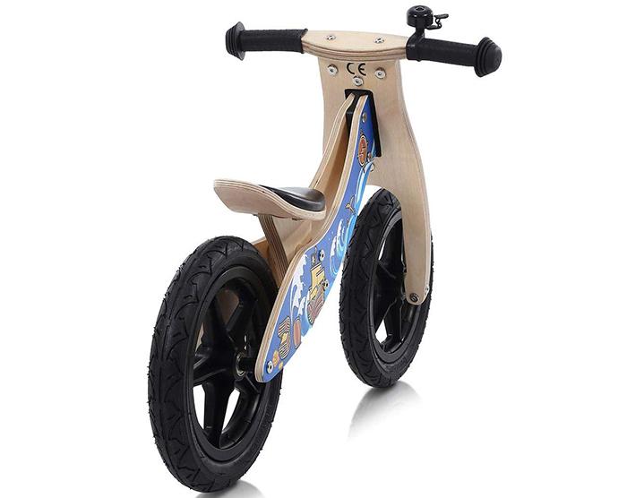 Baby Vivo Draisienne en Bois sans Pédales pour Vélo DE 30,5 cm avec Bell