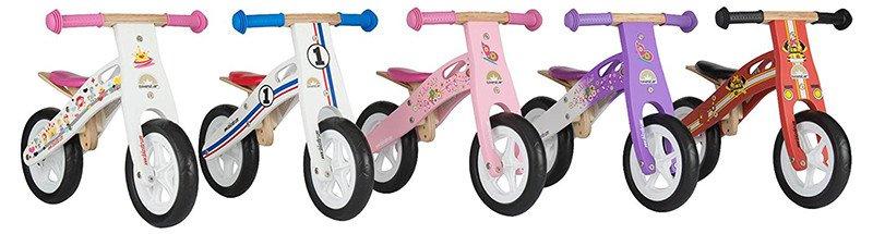 Bikestar Vélo Draisienne Enfants en bois pour garcons et filles