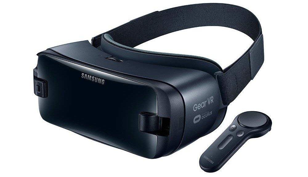 CasqueSamsung GEAR VR avec télécommande