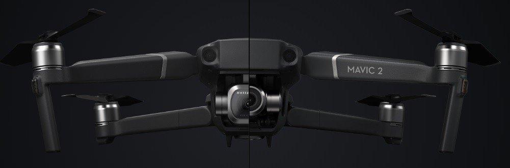 Différence DJI Drone Mavic 2 Pro et DJI Drone