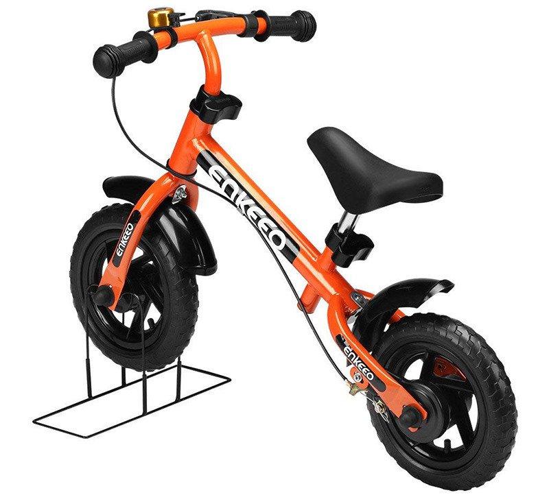 Enkeeo - Draisienne Vélo Enfant, Vélo Sans Pedale Enfant avec la cloche et le frein à main