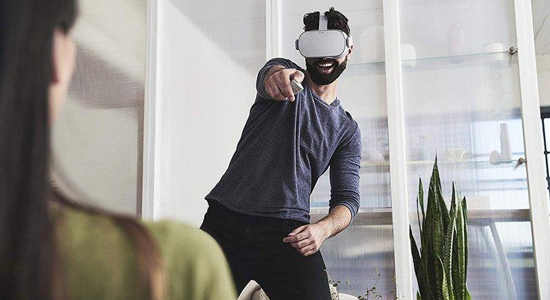 Oculus Go - Casque de Réalité Virtuelle - Casque VR - test de la manette fd75cfaf157b