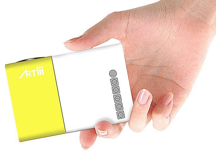 Artlii Mini Projecteur LED Portable Projecteur