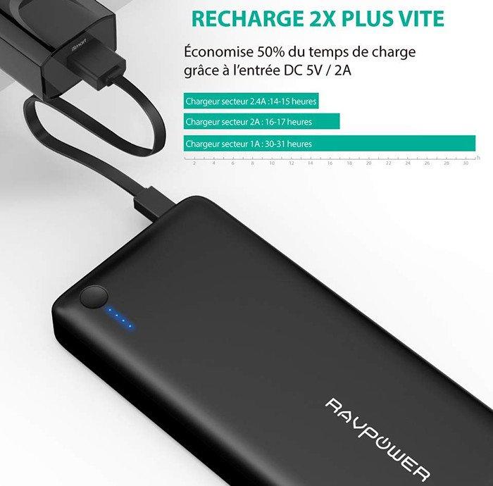 Batterie Externe 26800mAh RAVPower
