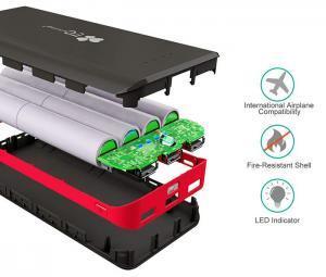 EC Technology Batterie Externe 22400mAh