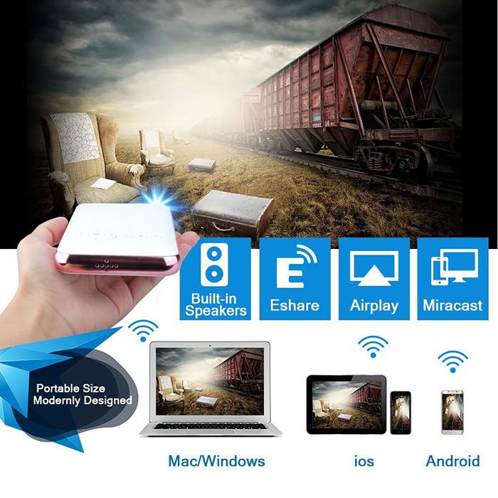 OTHA Pico Projecteur Portable Android 7.1