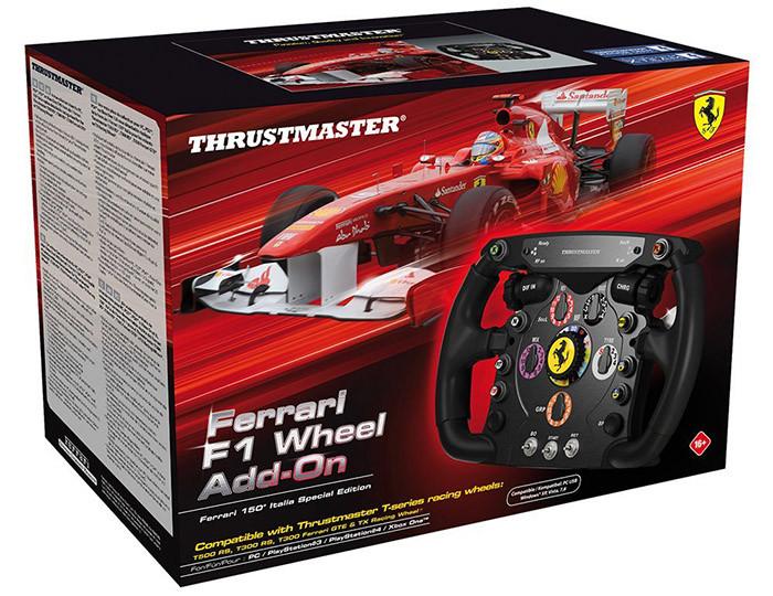 Volant Thrustmaster - Ferrari F1 Wheel Add-on