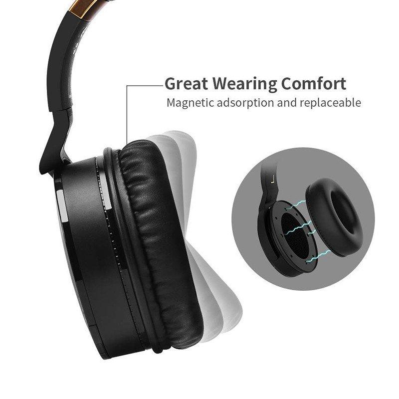 COWIN E8 Casque Bluetooth sans Fil Réduction de Bruit Active Écouteurs