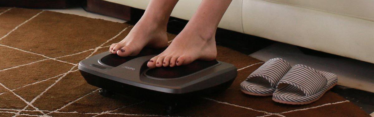 Mon test du Masseur de pieds de chezHomedics