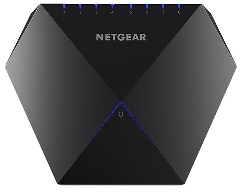 NETGEAR Nighthawk GS808E-100PES S8000 Switch Gigabit Gaming et Streaming