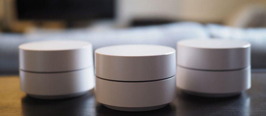Un exemple de routeur Mesh le routeur Wi-Fi maillé proposé par Google