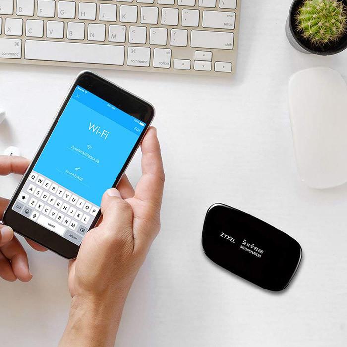 Zyxel Routeur de voyage Wi-Fi mobile LTE portable