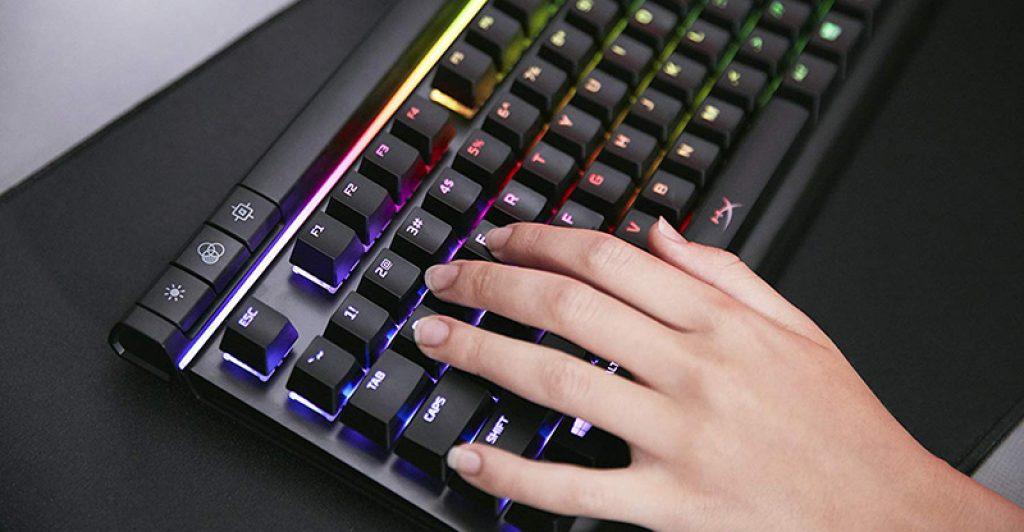 Clavier de jeu mécanique HyperX Alloy Elite RGB