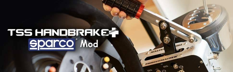 Mon Test duThrustmaster - TSS HANDBRAKE Sparco Mod