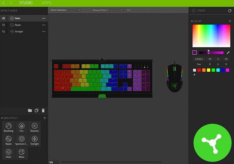 Razer Ornata Chroma - Clavier Gaming avec la toute Nouvelle Razer Méca-membrane
