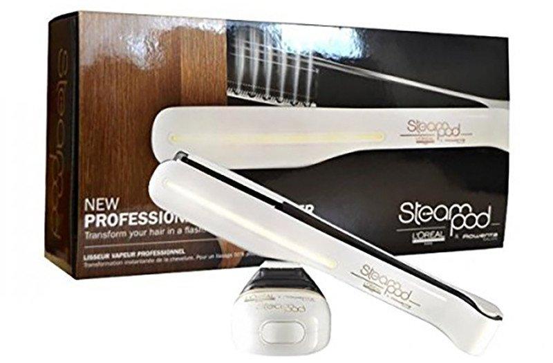 Pack Lisseur Steampod V2 Blanc Cheveux Fins