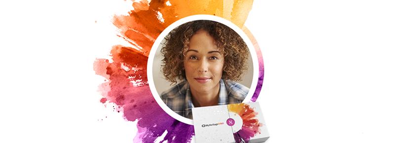 Un Test ADN qui dévoile vos origines ethniques et vous trouve de nouveaux parents