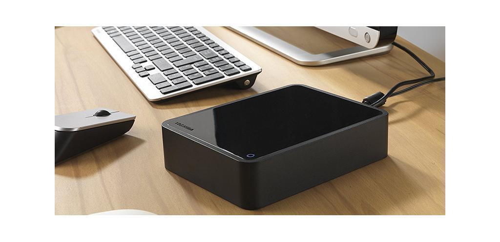 Toshiba CANVIO for Desktop 4 TB - 8,9 cm 3,5 – Noir