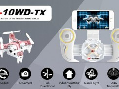 Gagnez un mini drone avec caméra pour les 6 mois de Testmateriel.net