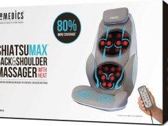 HOMEDICS CBS-1000 Test du siège de massage shiatsu